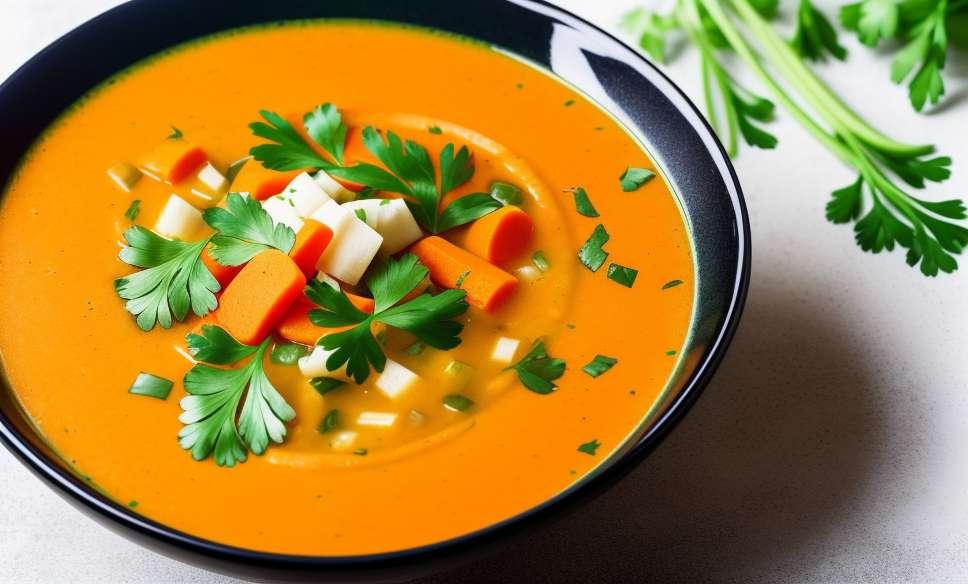 Recette de soupe aux légumes