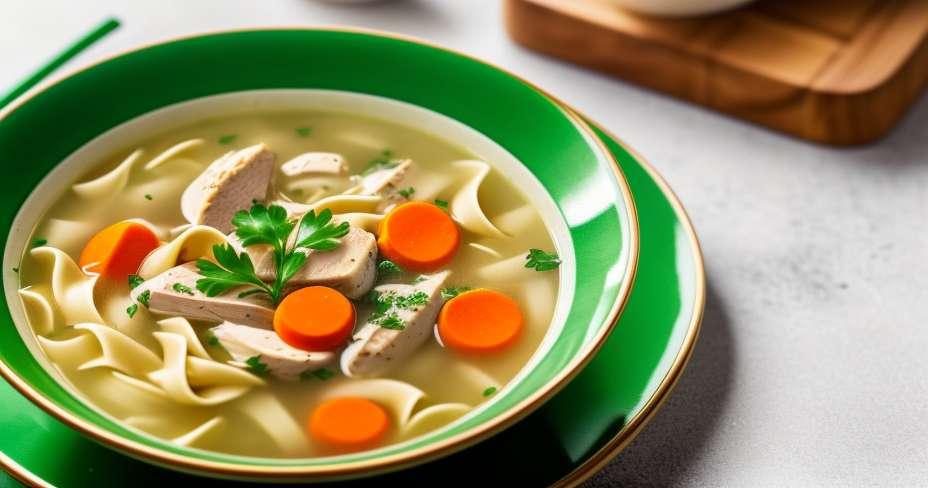 Low calorie soups and baguettes