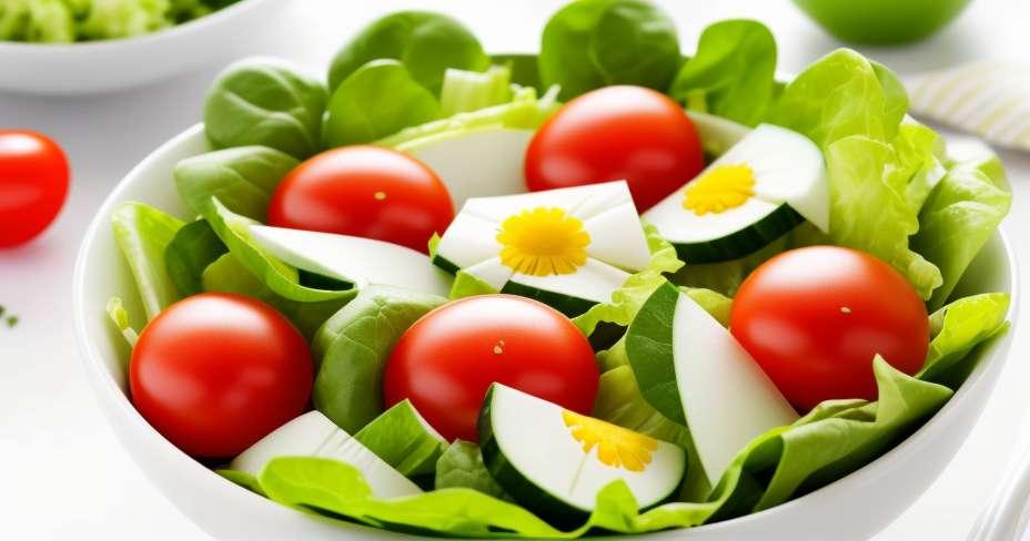 Salada de flores de abóbora