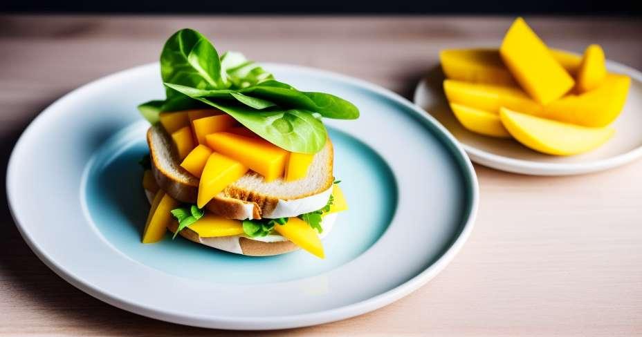 Sendvič s povrćem na žaru niske kalorijske