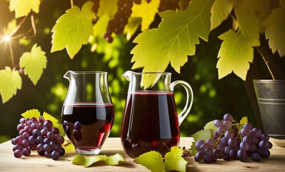 1. Suco de cranberries vermelhas
