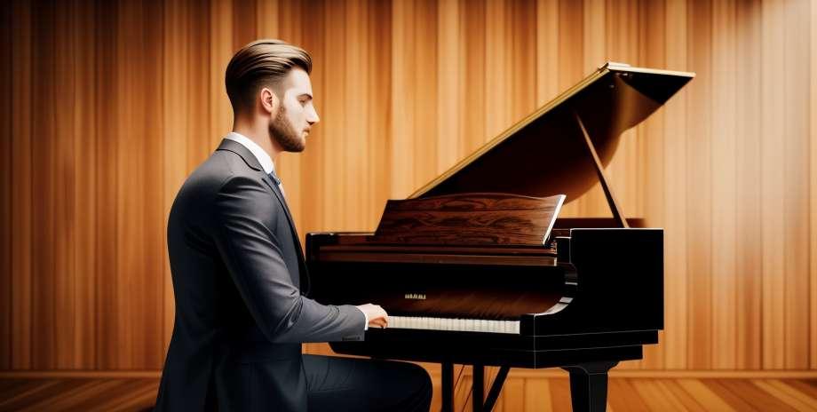 Пиано музика поддържа упражнения за подобряване на баланса