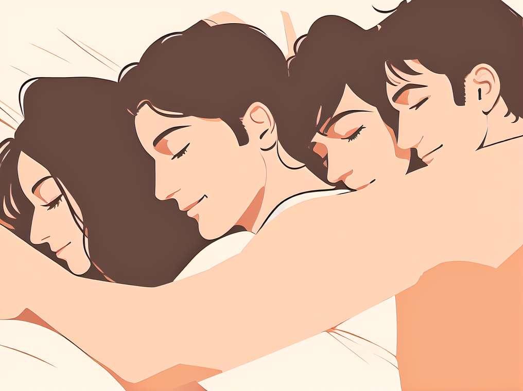 Спавање загрли побољшава ваш однос