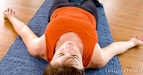 Yoga restores tired muscles