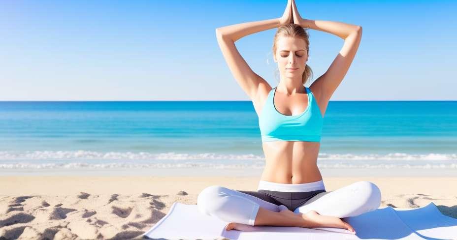 Yoga on summer vacation