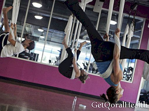 Aerial yoga, freedom that tones your body