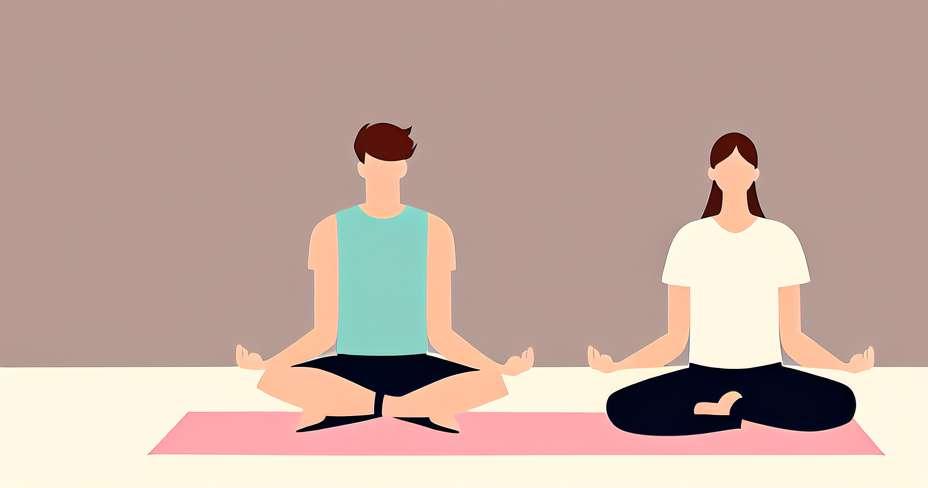 4 טיפים לעשות יוגה כזוג