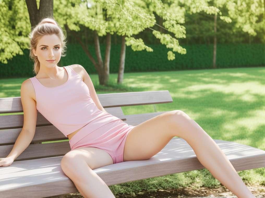 Postur yoga menghalang taji dengan kaki