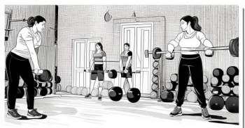 Tendinitis due to muscular work