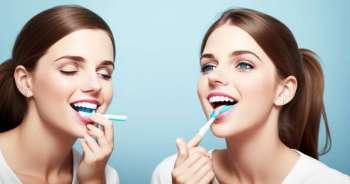 Oikea hampaiden harjaus parantaa suun terveyttä