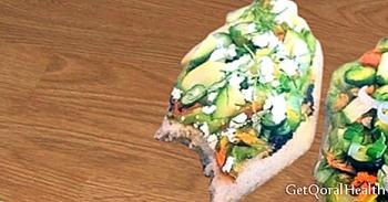 Tlacoyos med courgette