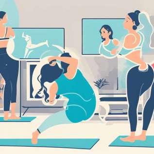 Zpětné cvičení vs. stres