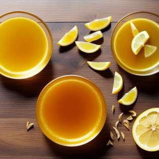 Limunova voda s kurkumom