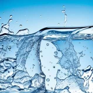 Je li vas gazirana voda deblja?