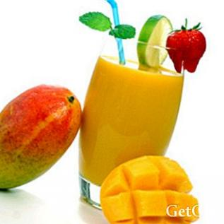Recette smoothie à la mangue