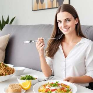أكل غنية وصحية ودون اكتساب الوزن