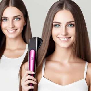 1. Tentukan gaya rambut anda