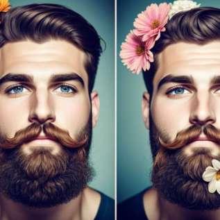 Nad kaunistavad oma habemeid niimoodi