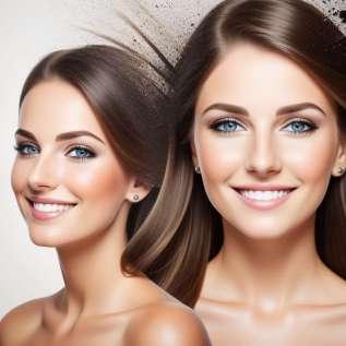 Maquillage pour le visage fatigué