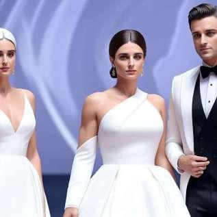 1. Victoria og David Beckham