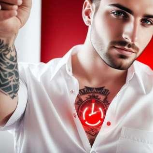 11 selebriti dengan tato terseksi (FOTO)