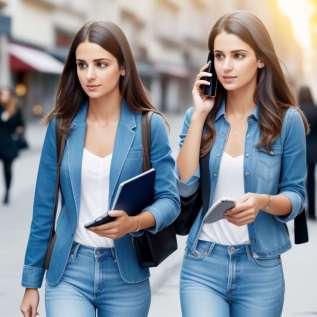 Chůze při mluvení s mobilním telefonem způsobuje zranění