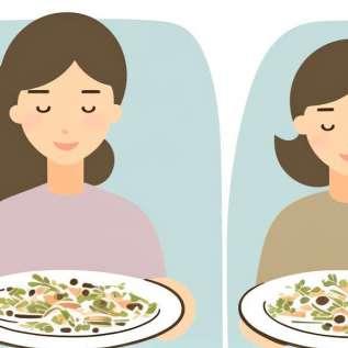 Reduzieren Sie die Anzahl der Kalorien, um gut zu sein!