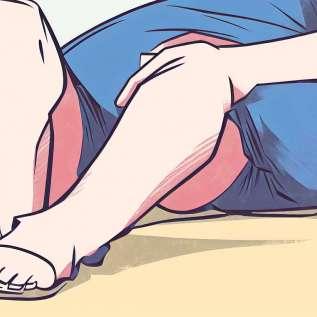 Sindromul picioarelor nelinistite afecteaza mai multe femei