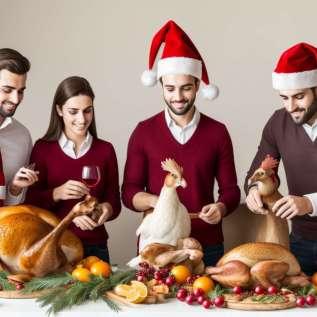 5 sunde muligheder for jule middagen