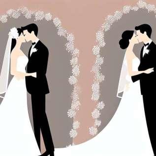 פחות נישואים, זוגות יותר?