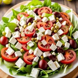 Salade van gemengde quelites