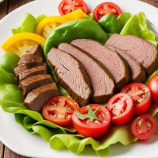 Печена риба са винаигретом од црног пасуља