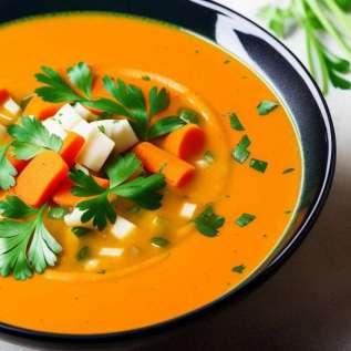 Daržovių sriuba receptas
