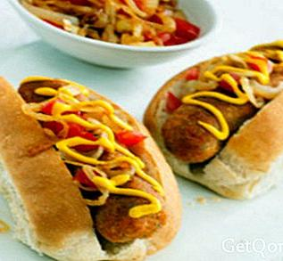 Hot dogs tropicaux