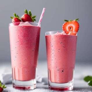 Glatko voće i jogurt