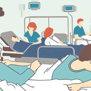 395 jordskælvofre forbliver på offentlige hospitaler i landet