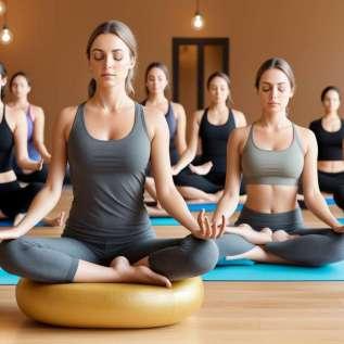 التأمل في المكتب والسيطرة على ضغط الدم