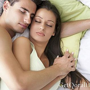 Sleeping embraced meningkatkan hubungan anda