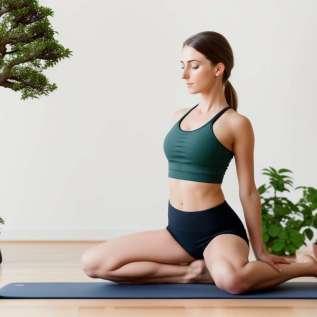 5 postur yoga vs masalah perut
